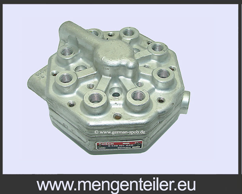 0438101040 DRIVSTOFFORDELER Bosch | Reparere | BENTLEY | 0 438 101 040 Fuel Distributor BENTLEY
